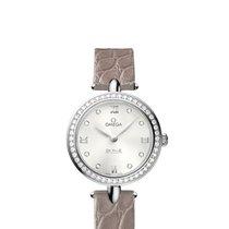 Omega 42418276052001 De Ville Prestige Diamonds Ladies Watch