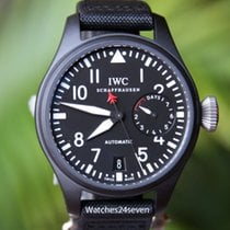 IWC Big Pilot Ceramic Top Gun 7 day Auto 48 mm