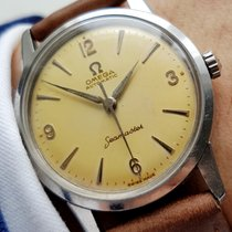 Omega Creme Patina Wonderful Omega Seamaster Automatic Automatik