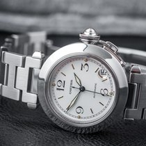 Cartier Ladies' Pasha Date Automatic steel