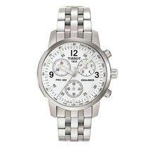 Tissot Men's T17158632 T-Sport PRC200 Silver Dial Watch