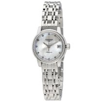 Longines Saint-Imier Automatic Mother of Pearl Dial Ladies...