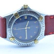 Breitling Callisto Quartz Herren Uhr 35mm Rar Stahl/gold...