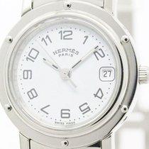 Hermès Clipper Steel Quartz Ladies Watch Cl4.210 (bf107815)