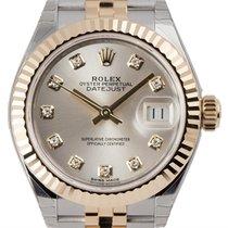 Rolex Lady-Datejust Silver/Diamonds Jubilee 279173