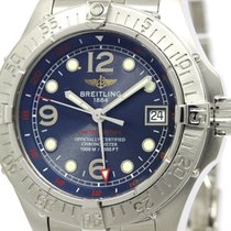 Breitling Polished Breitling Super Ocean Gmt Ltd Edition...