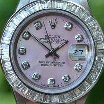 Rolex Steel Ladies 26mm Datejust Watch Warranty 1994 Serial...