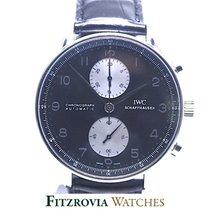 IWC Portuguese Chronograph Panda Dial IW371404