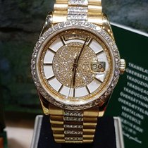 Rolex president day date rare diamond dial