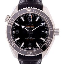 Omega Seamaster Stainless Steel Black Automatic 215.33.44.21.0...