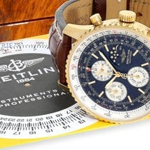 Breitling Wristwatch: Breitling rarity, limited 18 K gold...