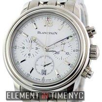 Blancpain Leman  Chronograph White Dial Ref. 2185-1127-11