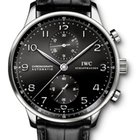 IWC Portuguese Chronograph Automatic Black Dial 40.9mm Watch
