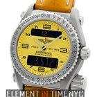 Breitling Emergency Titanium Yellow Dial 43mm Quartz Reference...