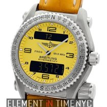 Breitling Emergency Titanium Yellow Dial 43mm Quartz Ref. E56121