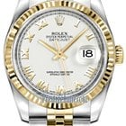 Rolex Datejust 36mm Stainless Steel and Yellow Gold Mid...