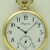 Longines Vintage Oversize Pocket watch, 18 kt yellow gold