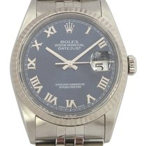 Rolex Datejust Steel with Blue Dial, Ref: 16234