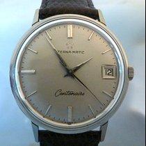 Eterna vintage eterna matic centenaire date steel white dial