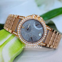 Harry Winston Ocean Lady Biretrograde 36mm Ladies Watch 18k