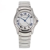 Cartier Santos Ronde 34mm 1920 Automatic Stainless Steel...