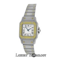 Cartier Authetic  Women's   Santos 18K Gold Stainless...