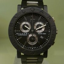 Bulgari carbongold roma chrono ref bb 38cl ch serial l0848 [On...