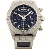 Breitling Chronomat Black Bird Lim. Ed. Double Watch  A44360