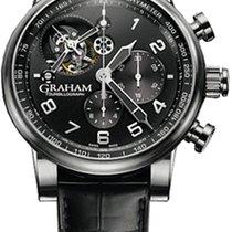 Graham Tourbillograph Mens Wristwatch Silverstone 2TSAS-B02A-01