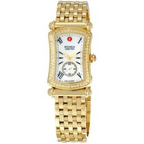 Michele Caber Park Diamond Gold Ladies Watch