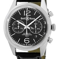 "Bell & Ross Vintage BR 126 ""Officer"" Chronograph."