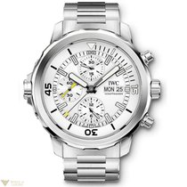 IWC Aquatimer Chronograph Silver Dial Stainless Steel Bracelet...