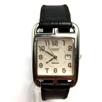 Hermès Cape Cod Pm Watch W/ 17 Inches Long Double Tour Band In...