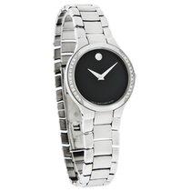 Movado Serio Series Ladies Diamond Swiss Quartz Dress Watch...