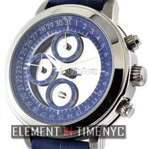 Quinting Mysterious Quinting Chronograph Blue Dial Ref.