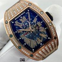 Richard Mille RM 037 Rose Gold Ladies Diamond Case Automatic