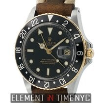 Rolex GMT-Master Steel & Yellow Gold Black Dial R Serial...