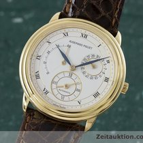 Audemars Piguet 18k Gold Gmt Gangreserve Dual Time Herrenuhr