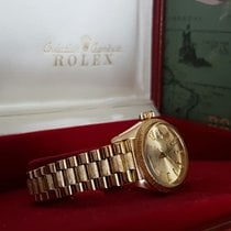 Rolex Oyster Datejust Lady Yellow Gold Bark Strap 18 krt (26 mm)