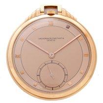 Vacheron Constantin Rose Gold Art Deco Pocket Watch
