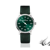 Meistersinger Phanero Automatic Watch,  Green, 35 mm.