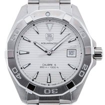 TAG Heuer Aquaracer 41 Automatic Silver Dial
