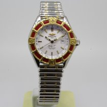 Breitling Lady J Class Stahl Gold D52065