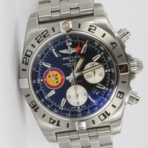 Breitling Chronomat 44 GMT Patrouille 50th Anniversary Stahl...