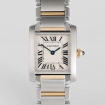 Cartier Tank Française Ladies Gold & Steel - Cartier Warranty