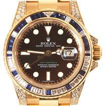Rolex GMT-Master II Diamond and Sapphire Set 116758SA