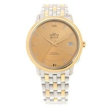 Omega De Ville Gold And Steel Gold Automatic 424.20.37.20.58.001