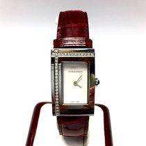 Burberry Stainless Steel Ladies Watch W/ Diamonds &...