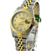 Rolex Used Lady''''s 2 Tone DATEJUST with...