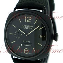Panerai Radiomir 8-Days Ceramica, Black Dial, Limited Edition...
